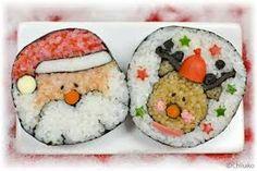épinglé par ❃❀CM❁✿「サンタクロース 巻き寿司」の画像検索結果 Un jour à Noël