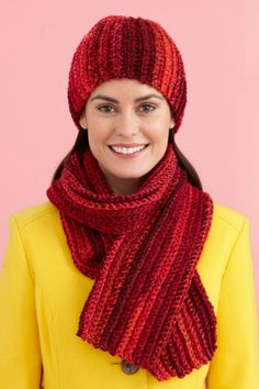Image of Easy Peasy Hat And Scarf Set