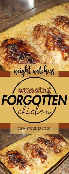 Amazing Forgotten Chicken #weight_watchers #weightwatchers #chicken