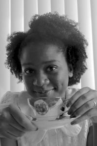 Jordan Ifueko's Perfect 4-Step Wash and Go  (themes: afro care, fro, black hair, natural hair movement, tea time, black writer )