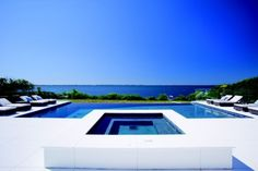 Contemporary Swimming Pool - Found on Zillow Digs Pool Spa, Gunite Pool, Luxury Pools, Dream Pools, Cool Pools, Nice View, Exterior Design, The Hamptons, Beautiful Homes
