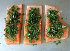 Edibles You Can Love: Cannabis Infused Herb Salmon