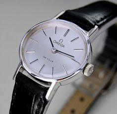 Omega De Ville Manual Silver Dial Vintage Women's Watch