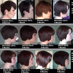 The growing out a pixie plan | My goal is #4. But then she has one ...