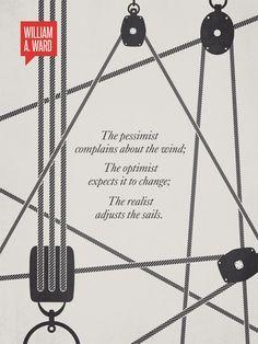 William A. Ward Minimalist Poster Quote