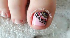 Publicación de Instagram de andryus_nails • 25 Ago, 2019 a las 9:09 UTC Cute Toe Nails, Cute Toes, Pedicure Nail Art, Manicure, Toe Nail Designs, Tattoos, Instagram Posts, Mandalay, Enamel