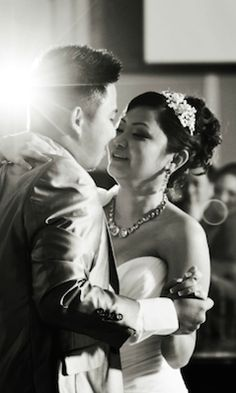 With Love Photography and Videography | bride and groom | Los Angeles wedding photography | L.A. weddings | Black and white