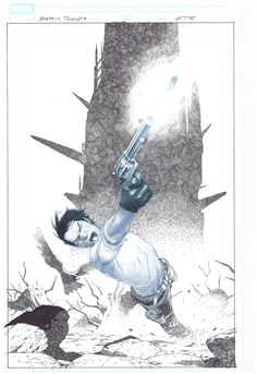 Dark Tower - Alternative Cover, in Robert Weinberg's Esad Ribic Comic Art Gallery Room The Dark Tower Series, Hero 3, Action Poses, Comic Art, The Darkest, Art Gallery, Batman, King, Illustrations