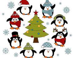 Usted recibirá un archivo zip que contiene elementos de arte de clip de Navidad 11: 2 muñecos de nieve 2 Santas 1 árbol de Navidad 1 caja de regalo 2 pingüinos 3 etiquetas de Word   Cada elemento se guarda por separado en archivo png con fondo transparente. Elementos del arte de clip son 6 pulgadas de alto, alta calidad (300 dpi) permite cambiar el tamaño sin perder calidad.  Ideal para scrapbooking, invitaciones, tarjetas, baby shower, diseño web y otros propósitos de diseño. Sólo se…