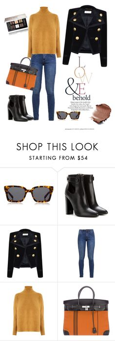 """""""Untitled #40"""" by darklady03 ❤ liked on Polyvore featuring ASOS, Karen Walker, Tom Ford, Yves Saint Laurent, s.Oliver, Warehouse, Hermès and Givenchy"""
