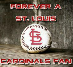 Yup!!! When I die just bury me in my St. Louis Cardinals shirt!!! TRUTH!!!! ♥