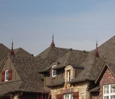 Copper Finials (Spires)   Copper Summit, Inc.   Copper: Awnings,