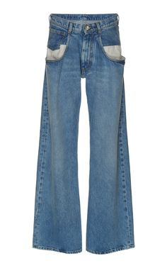 These Maison Margeila Wide Leg Jeans are just the tip of the iceberg for widelegs. the drop pocket should have been embelleshed. Next Weds I am offering my FIRST EVERY COLLECTION of wearables and they're custom wideleg jeans! #jeans #trending #diy #lizash #cool #sunday Wide Leg Jeans, Bell Bottom Jeans, Menswear, Drop, Pocket, Shorts, Denim, Blouse, Cotton