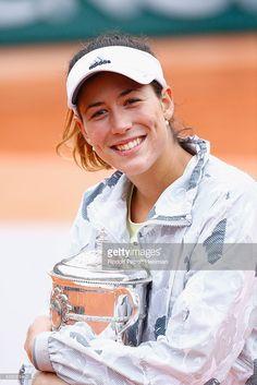 Spanish player Garbine Muguruza won Roland Garros during Day Fourteen, Women single's Final of the 2016 French Tennis Open at Roland Garros on June 4, 2016 in Paris, France.