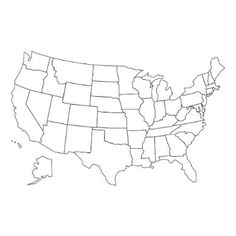Black White Map Of Usa Latest Printable America Map U S A
