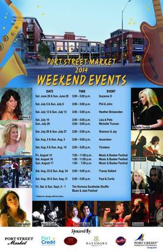 Tracey Gallant will be live today from at Port Street Market in Port Credit (Lakeshore w/of Hurontario)