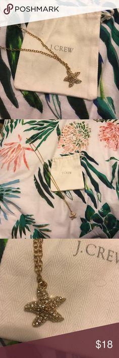 Spotted while shopping on Poshmark: J crew starfish charm necklace! #poshmark #fashion #shopping #style #J. Crew #Jewelry