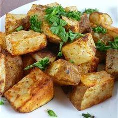 Pommes de terre rouges rôties au romarin