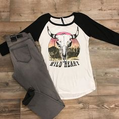 our bull obsession continues 🌵✨😍#frankieandjules #fnjstyle #shopsmall   #shopsmallkc #kc #localkc #shopkc #boutiquefashion #ootd #wiw #whatimwearing #whatiwore #springstyle #personalshopper #styleinspo #midwestdressed #midwestbloggerskc #kansascityblogger #bohoblogger