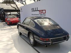 2013 Amelia Island Concours d'Elegance Porsche 911 50th Booth