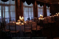 low candle centerpieces Yang
