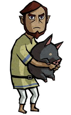 Abe - Characters & Art - The Legend of Zelda: The Wind Waker HD
