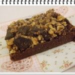 Nepečené brownies so zázvorom