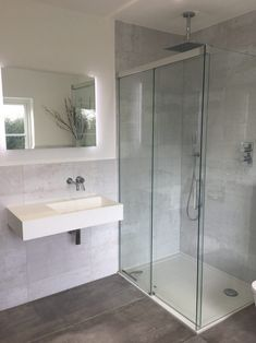 """It's been a good few weeks since we moved into our new house and slowly but surely we are getting the rooms to look more homely and """"lived"""" in. The builders have officially left (the portaloo was removed from site… Bathroom Goals, Bathroom Inspo, Bathroom Inspiration, Bathroom Ideas, Bathroom Designs, Downstairs Cloakroom, Upstairs Bathrooms, Open Plan Kitchen Living Room, Home Living Room"""