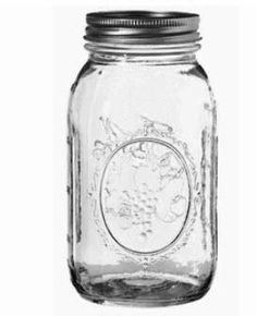 32oz Ball Regular Mouth Canning Jars w Two Piece Lids [case of 12] only $20 at…