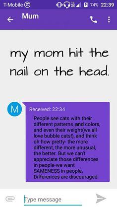 My mom nailed it. Credit @StolenAirCatcher