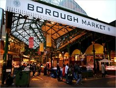 Borough Market. Read all about our favourite markets right here: http://londonliving.at/londons-top-5-markets/