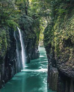 Manai Falls / Takachiho Gorge, Miyazaki, Japan