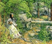 """Music in The Wind""::Bev Doolittle. Click to see enlarged pic for full effect.. ."