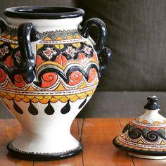 Beautiful Alcoya from Úbeda, Spain. #homedesign #homedecor #decor #decoration #interiordesign #craft #vase #jarron