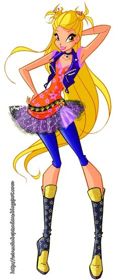 Stella Rockstar Outfit