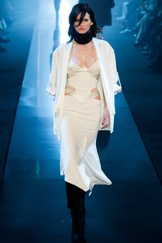 Alexandre Vauthier Spring 2015 Couture Fashion Show - Maartje Verhoef