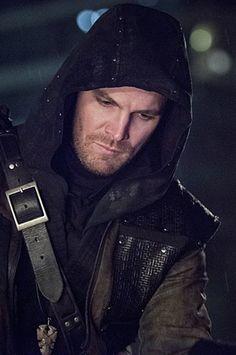 Arrow 3x21 - Oliver Queen as Al Sah-Him