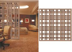 Patterns of Laser Cut Metal Screens