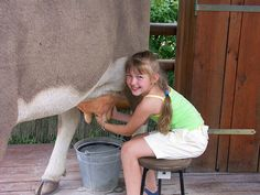 """Farm Life  """"Growing up on a dairy farm, you certainly learn discipline and a commitment to purpose.""""  ~Mike Johanns"""