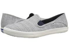Keds - Crashback Woven (Navy) Women's Slip on  Shoes
