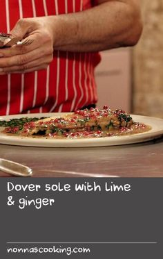 Dover sole with lime & ginger - Dover sole with lime & ginger Recipe For Hake Fish, Dory Fish Recipe, Fish Cakes Recipe, Bread Recipes For Oven, Tasty Bread Recipe, Savoury Recipes, Sea Bream Recipes, Basa Fish Recipes, Fresh Sage Recipe