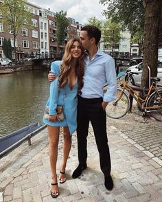 Negin Mirsalehi and Maurits Stibbe Classy Couple, Stylish Couple, Matching Couple Outfits, Matching Couples, Cute Couples Goals, Couple Goals, Cute Couple Pictures, Couple Photos, Date Nights