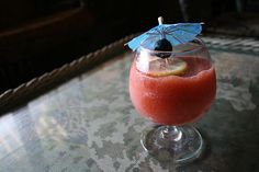 Frozen Drinks with Aviation for Summer