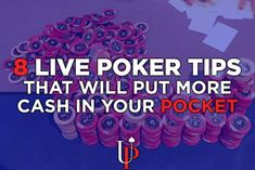 8 Live Poker Tips from Doug Polk, Ryan Fee & Team UpswingDespite sharing the same rules, live poker games are quite a bit different than their online counterparts.Whether it is the excessive limping …
