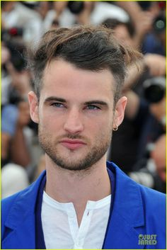 Tom Sturridge at Cannes 'on the road' photocall