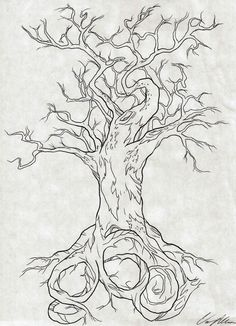 860 Tree Tattoo Design by NarcissusTattoos. on 860 Tree Tattoo Design by NarcissusTat Lion King Pictures, Bottle Drawing, New Tattoo Designs, Tree Sketches, Detailed Tattoo, Art Prints Quotes, Trendy Tree, Disney Tattoos, Tattoo Drawings