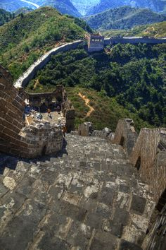 View From The Top | Beijing, China | Great Wall