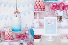 Retro Pink Flamingo Pool Party