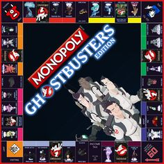 Monopoly: Ghostbusters Edition by Jest84.deviantart.com