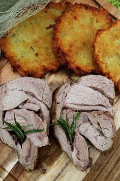 Rosemary and Garlic roast lamb (quick version)